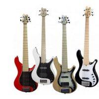 Brubaker JJX-4 Red Series basse électrique à 4 cordes