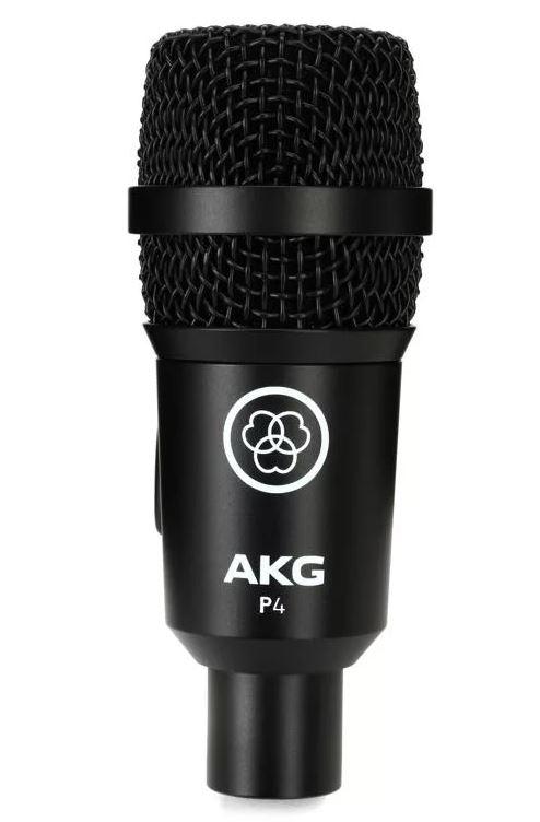 Micro instrumental dynamique AKG P4 | L'Oreille Musclée Centre musical