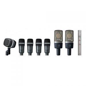 Kit de microphones premium AKG   L'Oreille Musclée Centre musical