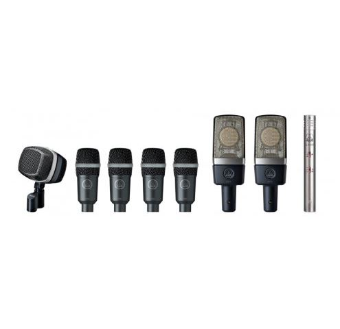 Kit de microphones premium AKG | L'Oreille Musclée Centre musical