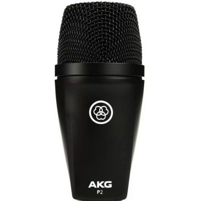 Micro de basse dynamique AKG P2   L'Oreille Musclée Centre musical