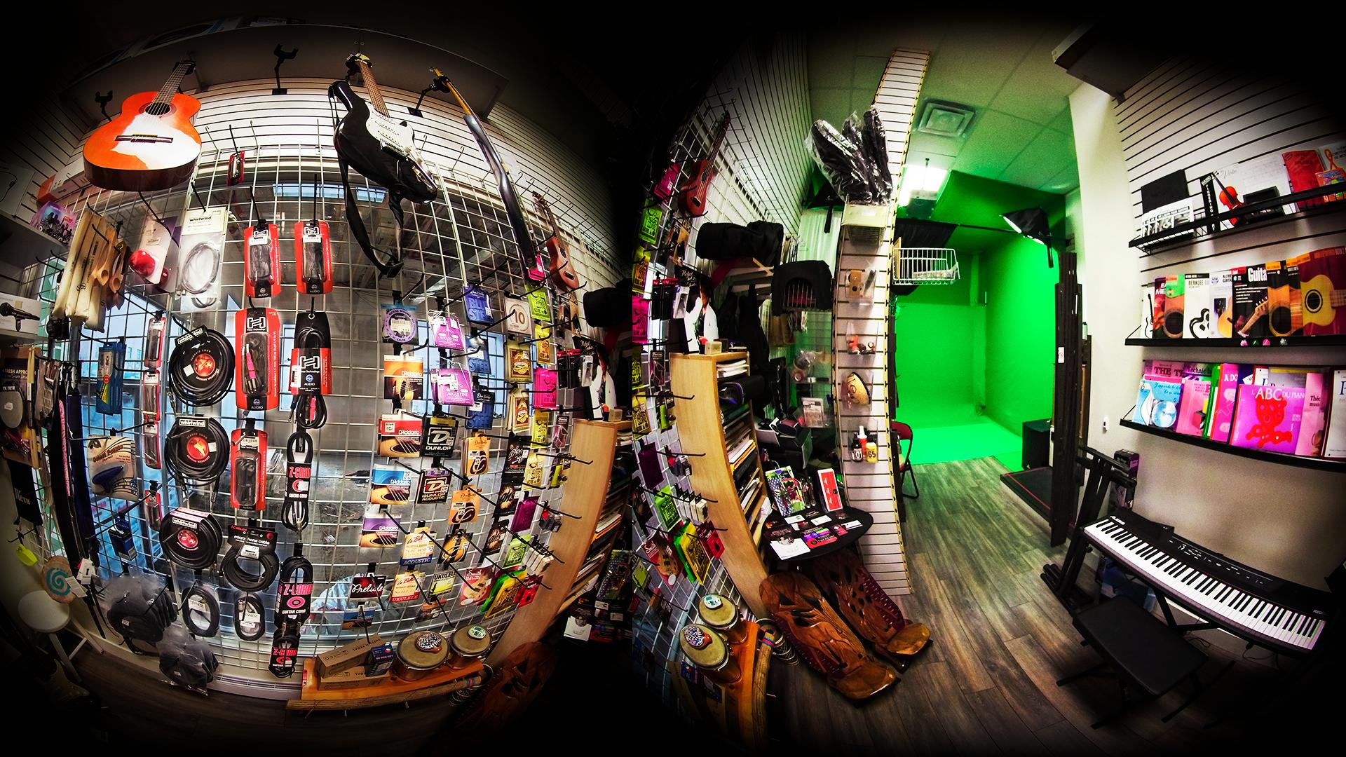 Boutique express d'accessoires pour les musiciens à Lachine