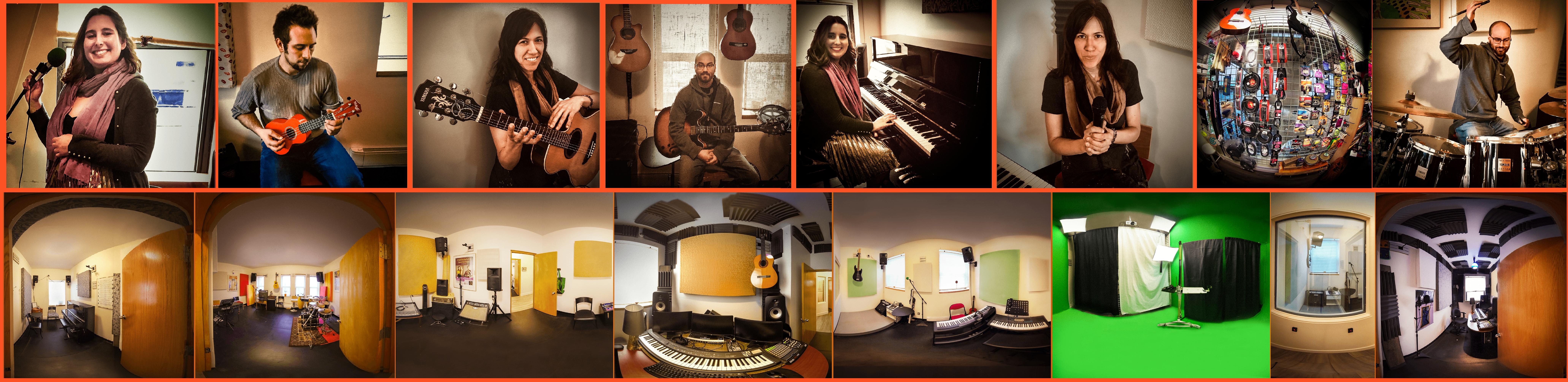 Cours de musique, studios de pratique, boutique Lachine