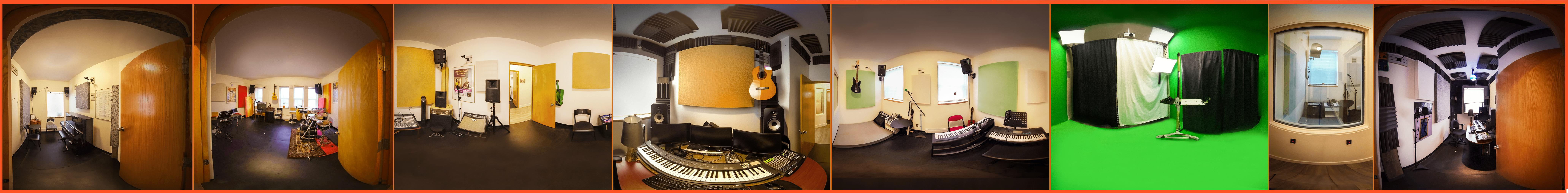 Location de studios de pratique et d'enregistrements tout équipés à Lachine