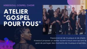 Atelier Chant Gospel pour tous è Lachine